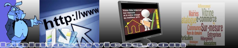 Hébergement, Création ou refonte de votre site Internet sur mesure, à votre image et au meilleur prix